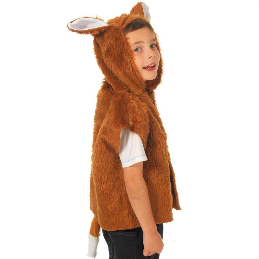 Children's Boys and Girls Fox Tabard Costume